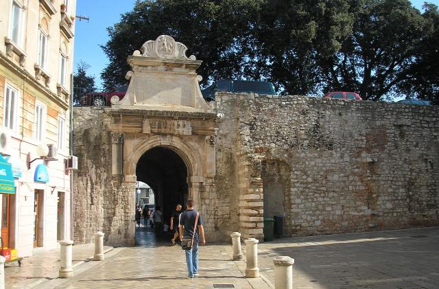 Horvátország Dalmácia Zadar város