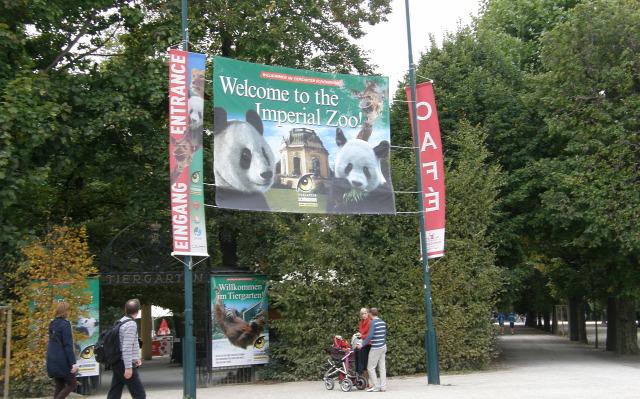 Ausztria Bécs várak Schönbrunn