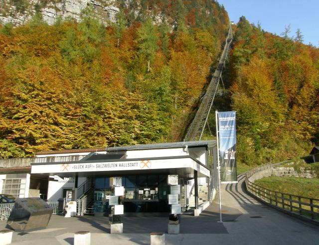 Ausztria Felső-Ausztria Hallstatt sikló