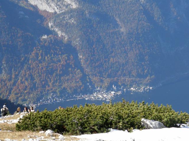 Ausztria Felső-Ausztria Dachstein Hallstatt Obertraun hegy csúcskereszt