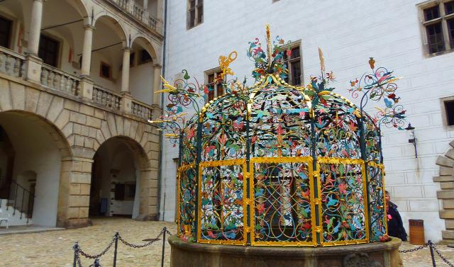 Csehország Jindrichuv Hradec várak