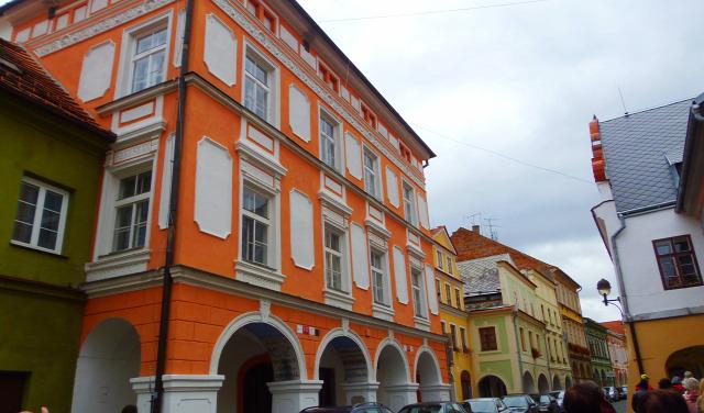 Csehország város Ceske Budejovice