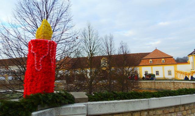 Ausztria Alsó-Ausztria várak adventi vásár Schloss Hof
