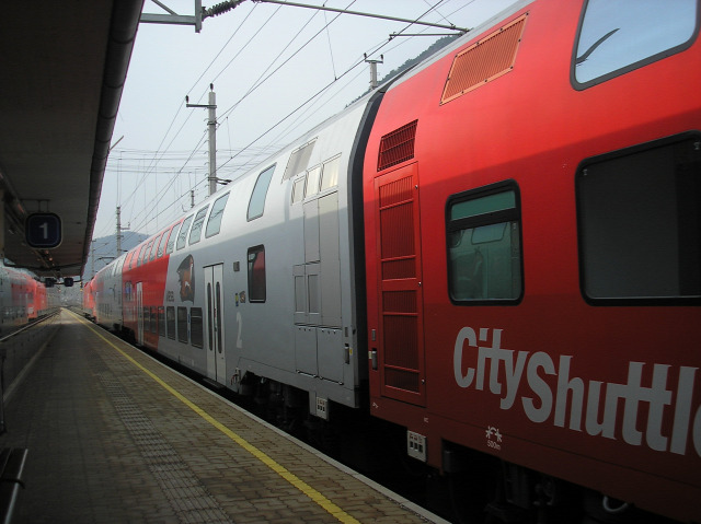 Ausztria Alsó-Ausztria Stájerország vonat vasút Gloggnitz Mürzzuschlag Semmering