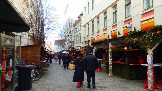 Ausztria Bécs adventi vásár város