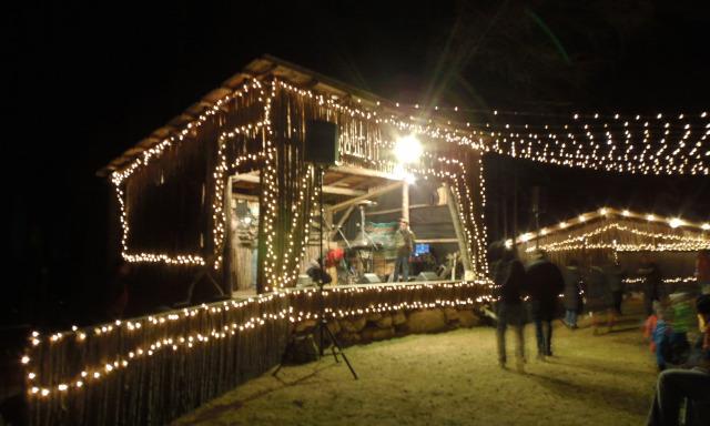 Ausztria Karintia adventi vásár kis-kabinos felvonó Petzen