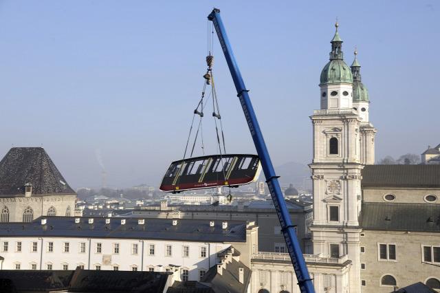 Ausztria Salzburg tartomány Salzburg sikló
