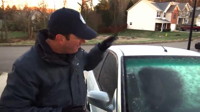 hogyan kell hogyan how to tél fagy autó szélvédő jégtelenítés hogyan lehet