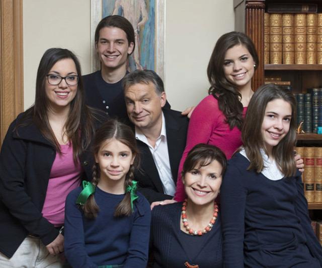 orbán MO család párkapcsolat fidesz family
