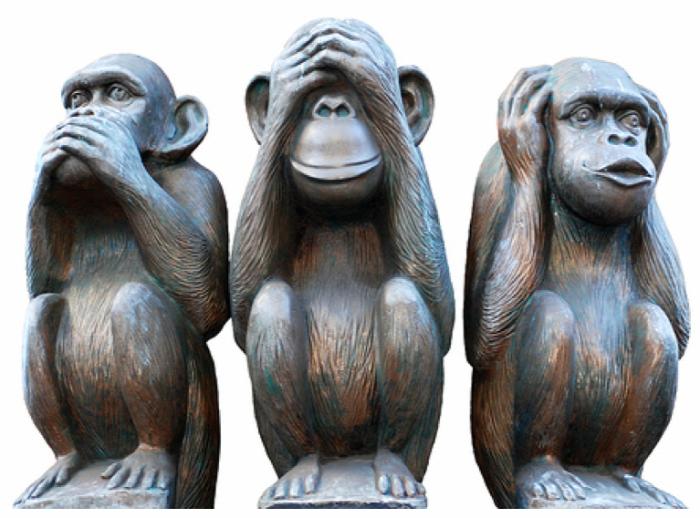 test testbeszéd hazugság lie to me Paul Ekman gesztikuláció három majom