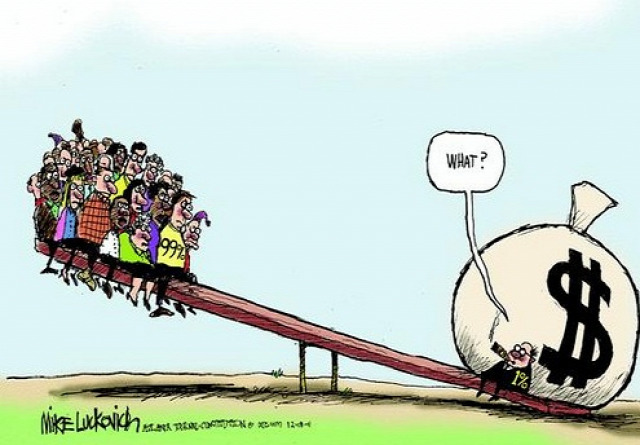 egyenlőtlenség gazdag szegény vagyon