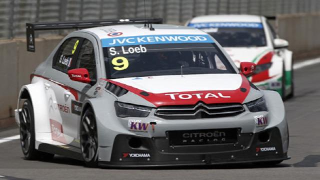 WTCC Loeb Sebastian Citroen