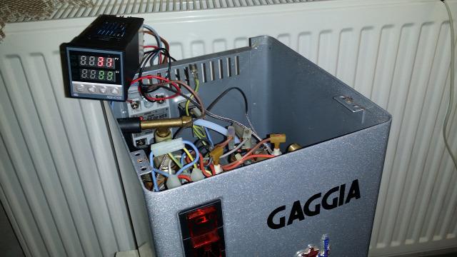 PID használt gép kávéfőző Gaggia