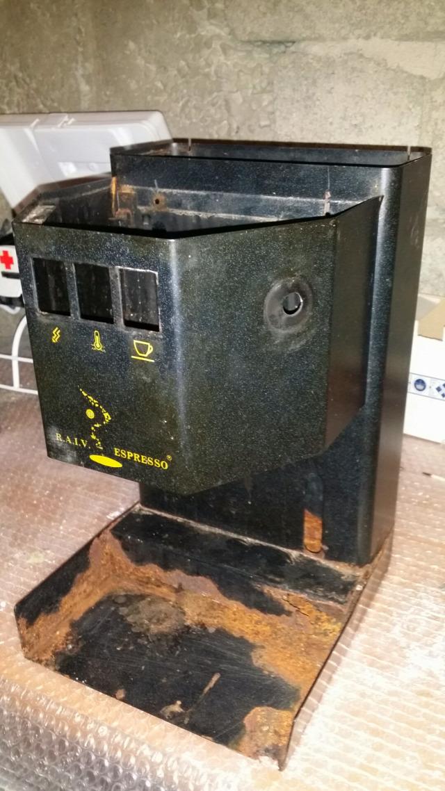 használt gép felújítás Francis Francis POD Tecnosystem