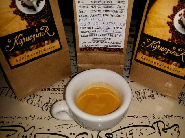 kávé kóstolás