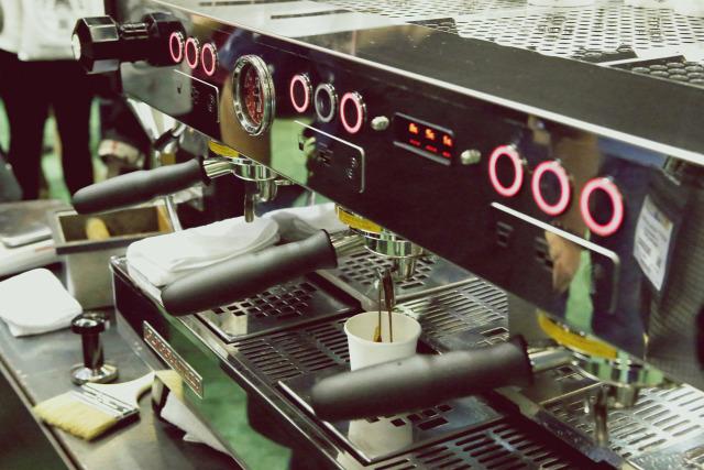 kávégép presszó kávé technika