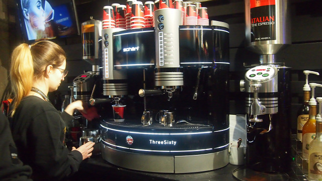 kávé fesztivál kiállítás espresso bécs