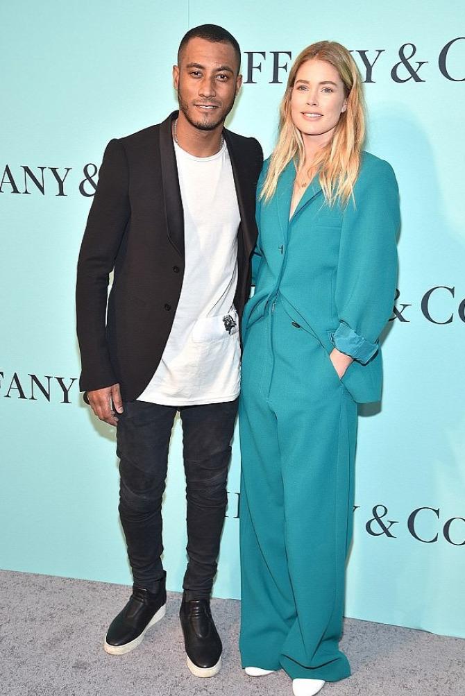 Doutzen Kroes Celine öltöny Tiffany&Co