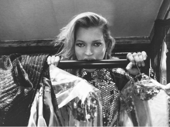 Kate Moss Pam Hogg modell születésnap