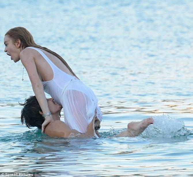 Dirty Dancing fürdőruha Lindsay Lohan