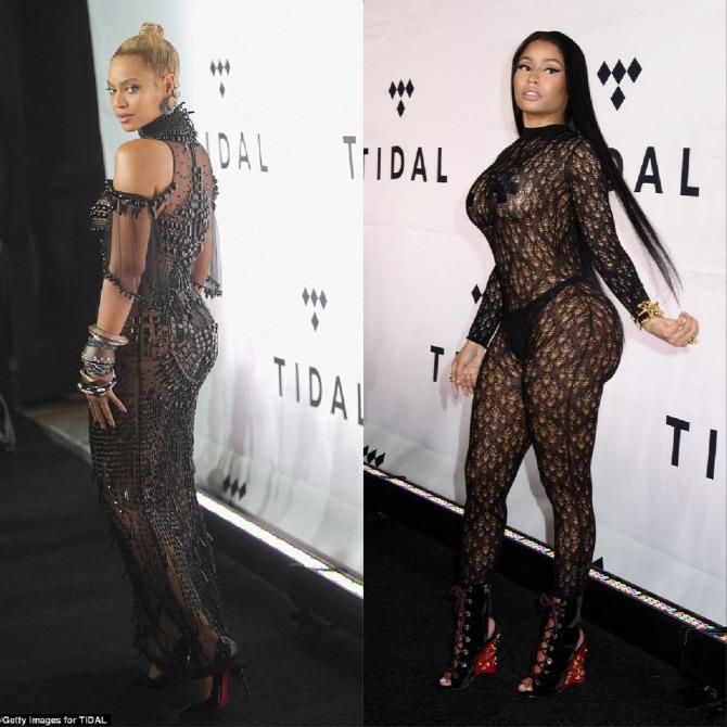 Beyoncé Kim Kardashian Nicki Minaj Louboutin