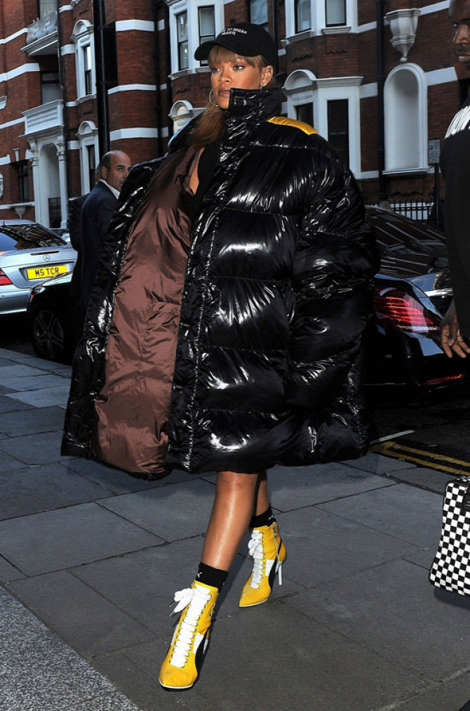 Rihanna Puma London Harrods