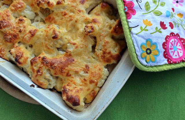 karfiol besamel besamel mártás liszt vaj tej fincsi ebédek