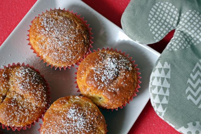 túró liszt sütőpor vaj cukor barack gyors muffinok édességek citrom vaníliás cukor tej