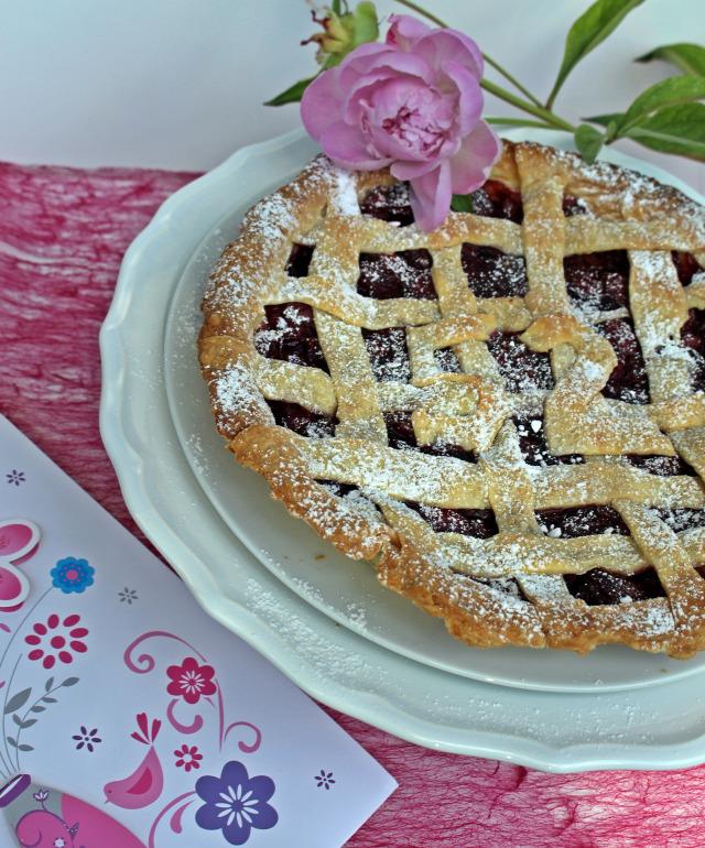 pite édességek vaj liszt cukor cseresznye fahéj étkezési keményítő