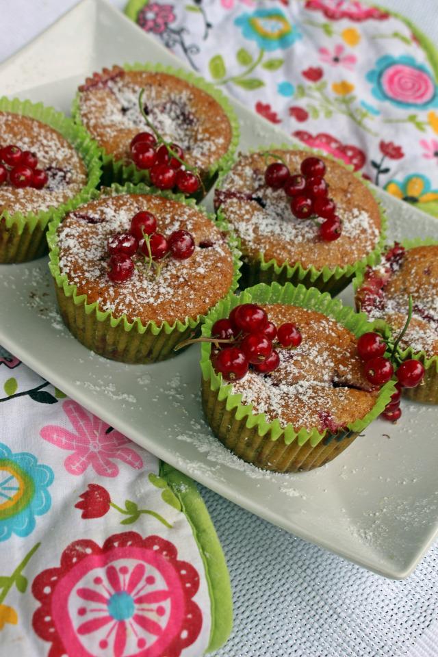 gyors muffinok édességek lekvár ribizli liszt cukor tojás joghurt sütőpor