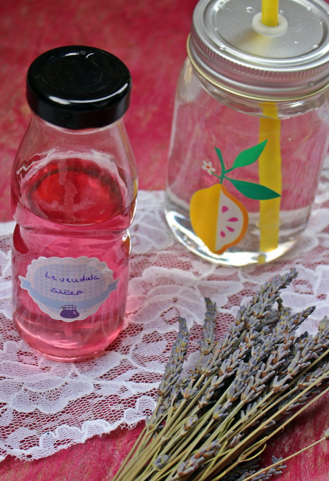 levendula levendulás szörp cukor citrom citromsav