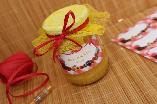 őszibarack lekvár lekvárfőzés befőzés barack cukor dzsemfix citrom