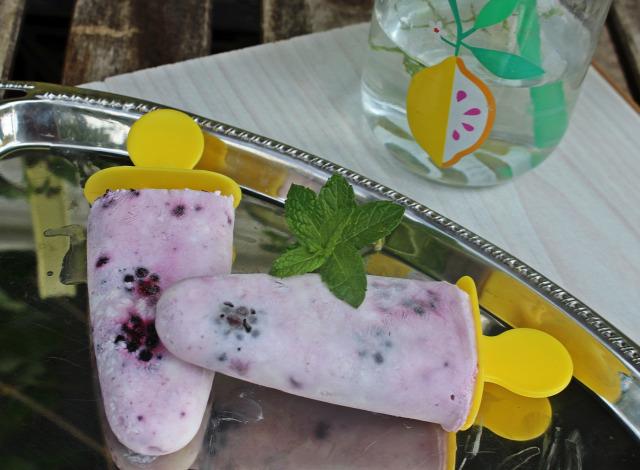 túró joghurt szeder méz citrom jégkrém fagylalt nyár édességek fagyi
