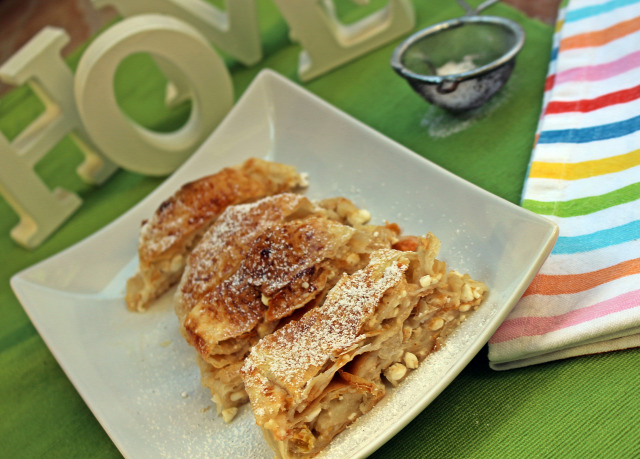 rétes réteslap barack ricotta joghurt görög joghurt fahéj vaj tojás édességek