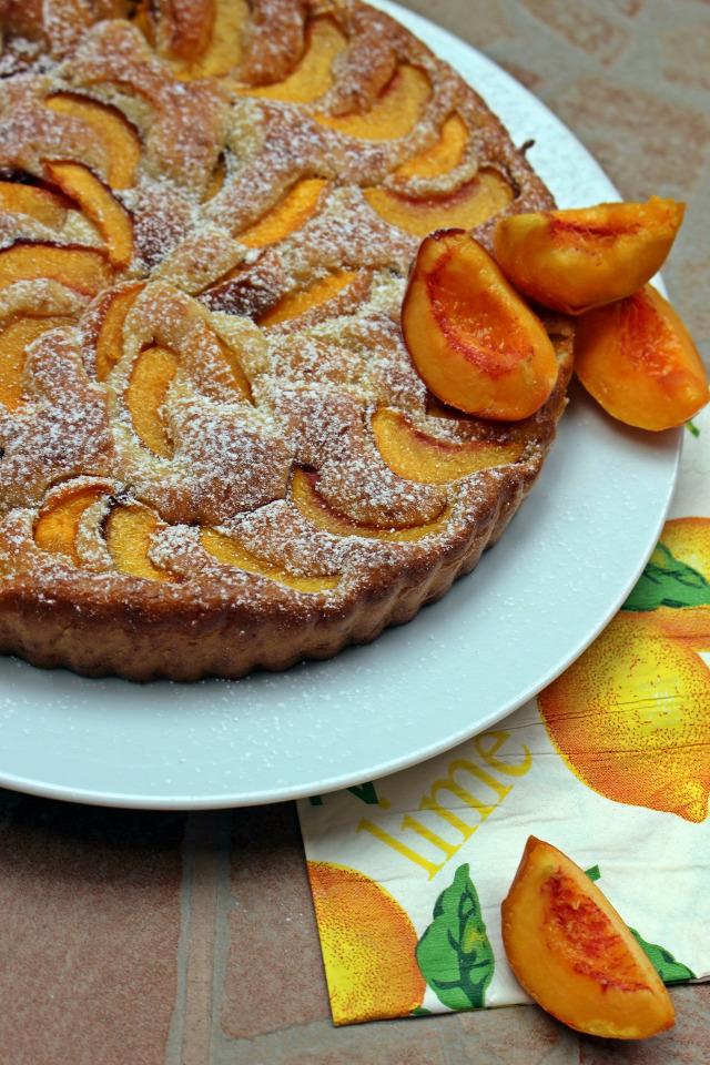őszibarack barack édességek pite tojás vaníliás cukor cukor tejföl olaj liszt sütőpor