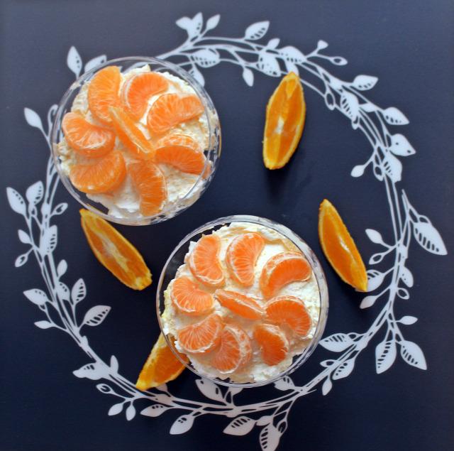 habtejszín joghurt kókuszreszelék porcukor narancs mandarin zabkeksz pohárkrémek