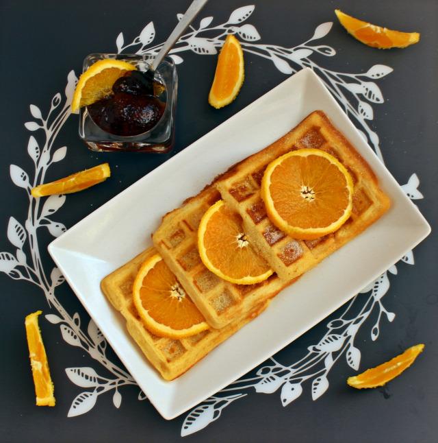 narancs vanília ráérős reggelik gofri liszt cukor tojás vaj tej vaníliás cukor