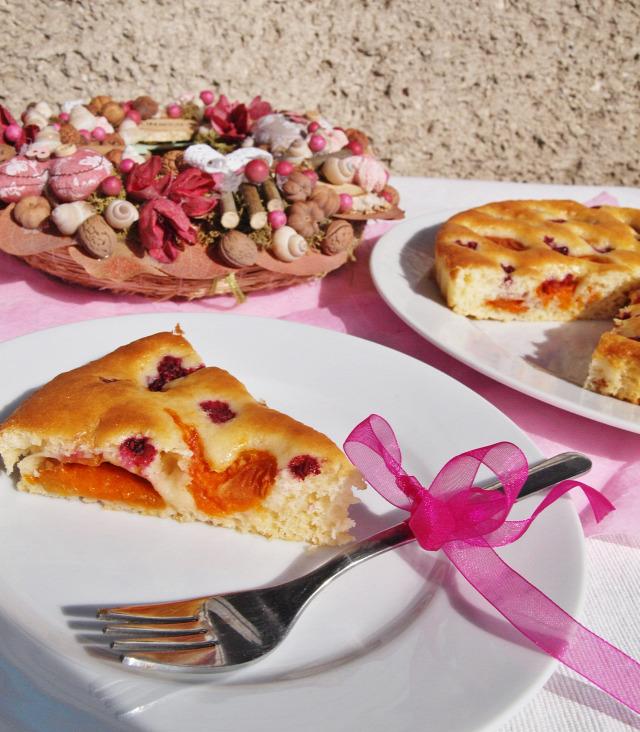 pite barack málna édességek vanília citrom