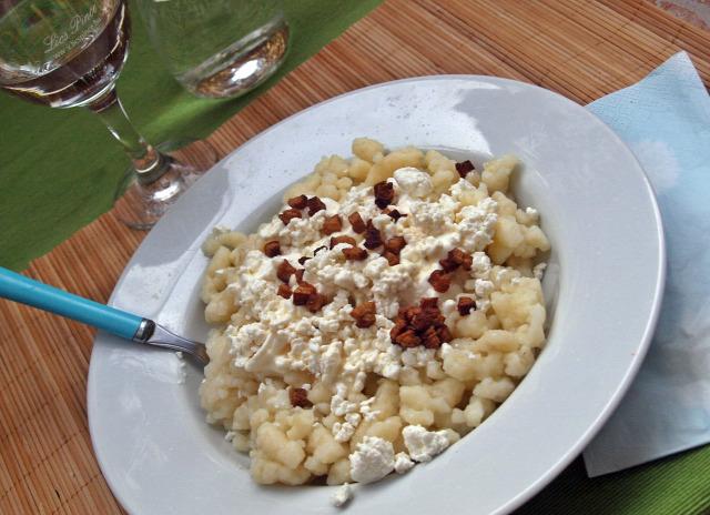rohanós vacsorák sztrapacska szalonna juhtúró tejföl
