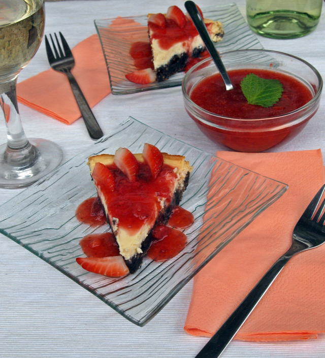 oreo keksz sajttorta krémsajt eper olaszrizling bor citromfű fehérbor narancs édességek