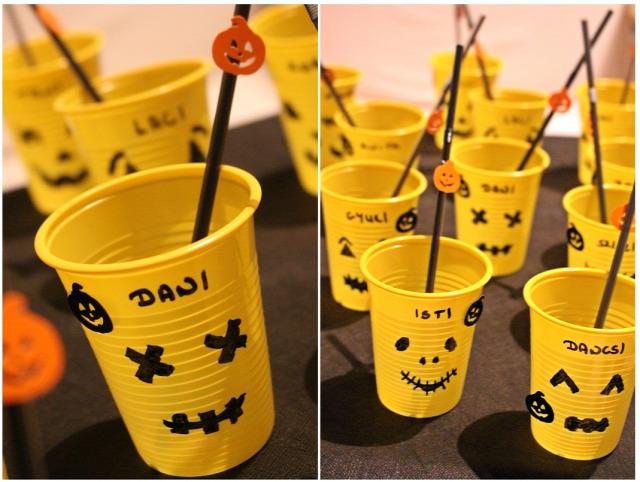 halloween vendégvárók jelmez dekoráció tök