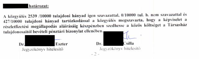 társasház közös költség célbefizetés társasházi közgyűlés lakáspiac 2018 Budapest Magyarország Ingatlanműhely