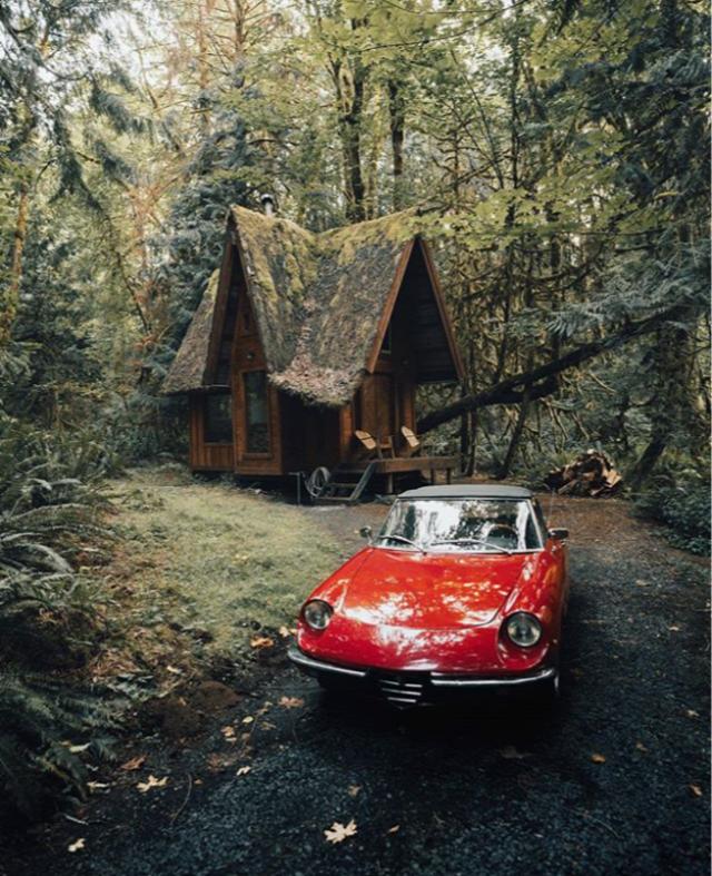 Jacob Witzling kabinház kabinizmus építészet otthon szabadidő USA Ingatlanműhely