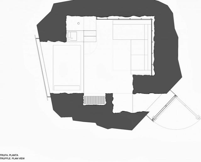 építészet ProyectoThe Truffle Anton García-Abril Ensamble Studio  Roland Halbe Spanyolország belsőépítészet minigarzon Ingatlanműhely