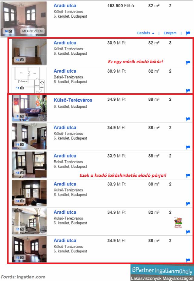 minden ingatlan egyszer lakáshirdetések hirdetésszűrés ingatlan.com Szabó Laura ingatlanműhely