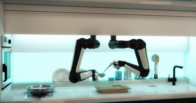 Konyha Konyhai robot robot chef designporn ingatlanműhely