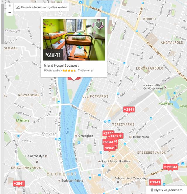 airbnb airbnb.hu egyéb szálláshely-szolgáltatás hostel fizető vendéglátás turizmus ingatlanműhely
