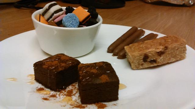 anglia édesség flapjack brownie fogyókúra gasztronómia