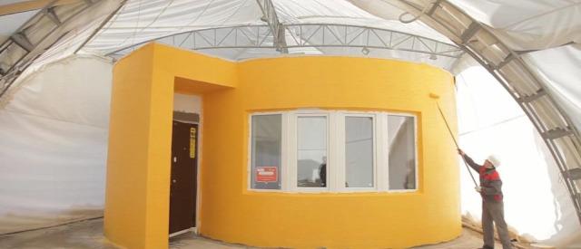 3d nyomtatás házépítés lakásfelújítás otthon