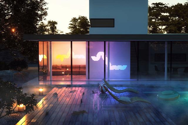 okosotthon smart home iot design design világítás